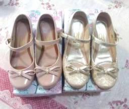 Sapatos infantis sociais
