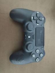 Controle de PS4 edição ilimitada do the last of us com uma semana de uso