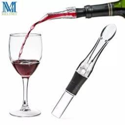 Decantador /decanter aerador portátil e Bico dosador de vinho