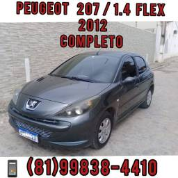 Peugeot 207 1.4 XR 2012 completo / IPVA pg