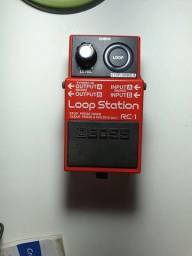 Título do anúncio: Pedal Loop Station Boss RC 1 R$650