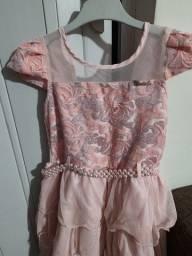Vestido rosa tamanho P
