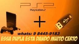 @!fazemos instalação de jogos ps2/ pen driver ou hd externo