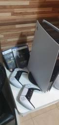 Playstation 5 825GB com 2 Controles + 2 Jogos
