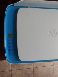 Impressora HP multifuncional com bulk já instalado