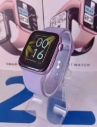 Novo Relógio Smartwatch X8 Max Roxo