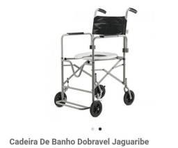 Cadeira de banho jaguaribe dobrável
