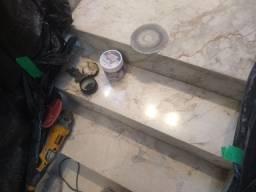 Título do anúncio: Polimento Revitalização restauração limpeza tonificação de mármore granito etc.