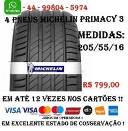 4 Pneus Michelin Aro 16 - Primacy - 205/55/16