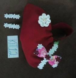 Kit tiara infantil