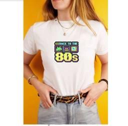 Camisetas Retrô anos 80s