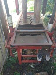 Máquina manual de blocos de PVS