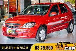 Título do anúncio: GM - Chevrolet Celta Spirit/ LT 1.0 MPFI 8V FlexP. 5p 2013 Flex