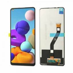 Tela / Display para Samsung A21 a215 - Melhor Preço do ES e Instalação em 30 Minutos!
