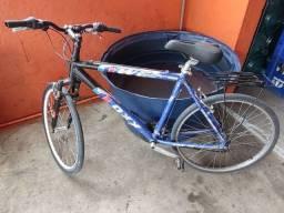bicicleta aro 26 21v alumínio oxx wg azul