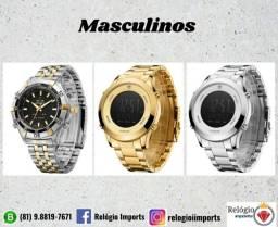 Relógios masculinos disponível