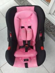 Bebê conforto cosco Nexus rosa coroa