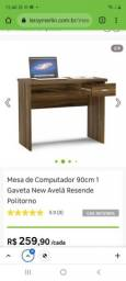 Título do anúncio: Mesa para computador (escrivaninha)