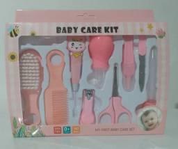 Kit primeiros cuidados e higiene do bebê e da criança