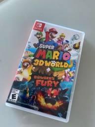 Jogo Mario 3D World + Bowsers Fury Nintendo Switch