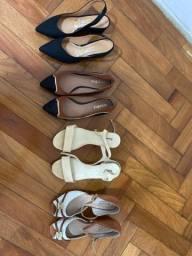 4 sapatos tamanho 36