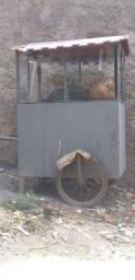 Carrinho de pipoca vendo ou troco
