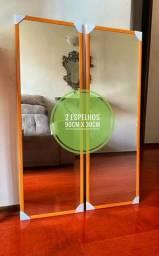 Promoção Espelhos - 02 por R$120 - Medidas 90cm x 30cm