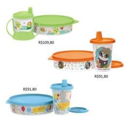Título do anúncio: Kit alimentação tupperware baby infantil personagens Disney