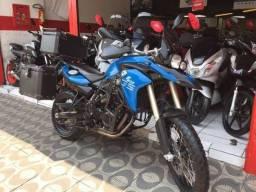 Moto _ BMW F-800 GS 2014 Azul