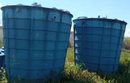 Dois conjuntos com Biorreator + Biofiltro Fibratec, 10.000 L