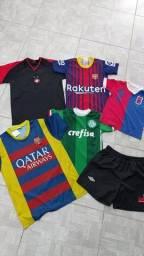 Camisetas de time - 15,00 cada