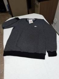 Camisa manga longa de moletom premium P, M, G e GG