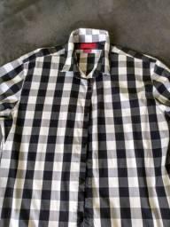 Título do anúncio: Camisa xadrez Zara