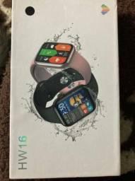 Relógio smartwatch Hw16 mm44