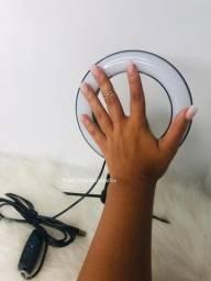 Título do anúncio: Ring ligth + mini tripé