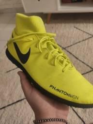 Chuteira futsal Nike phantom vision n38
