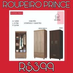 Guarda roupa prince oferta