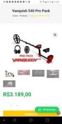 Título do anúncio: Detector de metais vanquish 540 pro