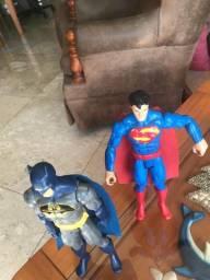 Bonecos do Batman e Superman - Coleção dos Vingadores