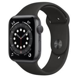 Apple Watch (GPS) Series 6 44mm Space Gray Pulseira Black