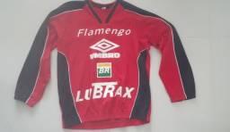 Título do anúncio: Blusão de treino antigo do Flamengo