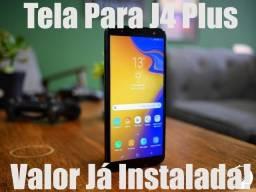 Tela / Display Original Para Samsung J4 Plus J415 - Instalação em 30 Minutos!