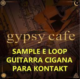 Sample Guitarra Cigana Gypgy Cafe Para Kontakt
