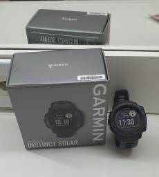 Relógio Garmim Instinct solar-GPS,monitor cardíaco.