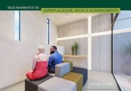 Apartamento de 75m² com laje acústica .r