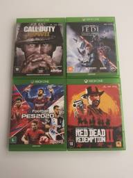 4 Jogos Xbox One - Originais- Mídia física
