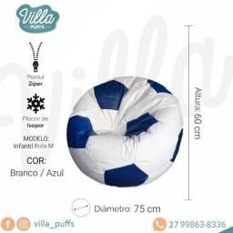 Pufe, pufi, puff - Linha Temática - Bola de Futebol M - Confira algumas cores