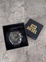 Relógio diesel pulseira em couro !