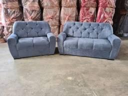 jogo de sofá super confortável