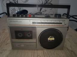 Radio e toca fitas anos 70-80